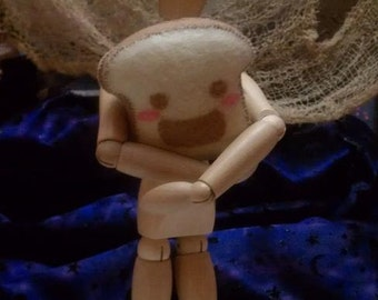 Miniature Happy Toast Plush