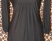 Little Black Carol Dress