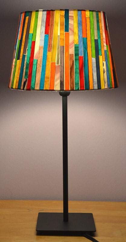 Glass Mosaic Lamp Shade