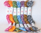 "Embroidery Floss ""Mingles Pallete"" - 7 Skeins Pack - Embroidery Thread by Sublime Floss"