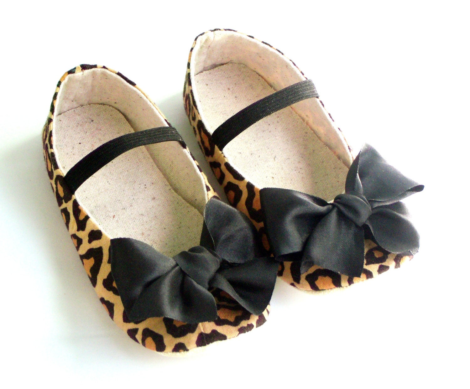 Baby Girl Crib Shoes Newborn Leopard Littleserah