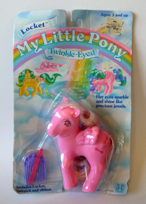 Reserved Listing My Little Pony G1 Moc Locket Twinkle Eyed