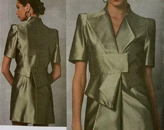 Paris Original Dress by Guy Laroche Vogue Pattern 1155 Uncut  Size 6-8-10-12 or 14-16-18-20