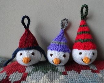 Christmas Snowman Tree Decorations - Christmas Gift - Holiday Gift