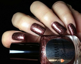 Shimmer Nail Polish - Katherine
