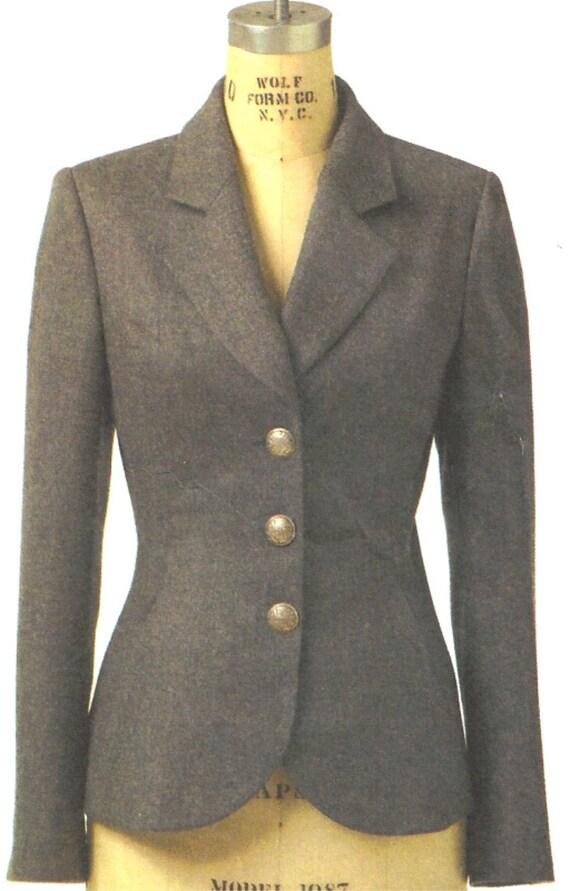 Vogue  Jacket Pattern 8333 Claire Shaeffer Uncut  Sizes 12, 14, 16 Free shipping