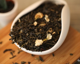 Green Tea - Jasmine Green Loose Leaf Tea Premium Level NET 30 grams/ 1.1 oz