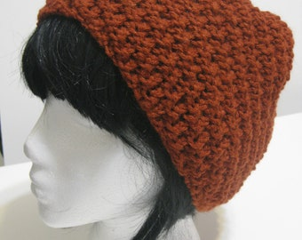 Rusty Red Everyday Beanie