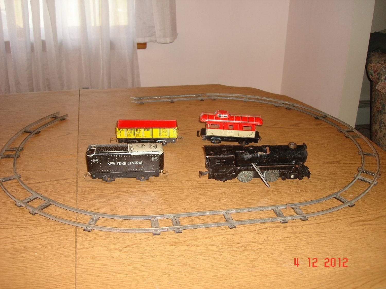 Vintage Train Set 17