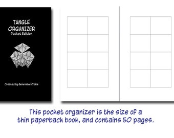 Tangle Organizer Pocket Edition, Zentangle