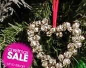 Christmas ornaments, Christmas hangers, Holiday Decor, Christmas bell , Home decor, BELLS, HEART, handmade decoration, Christmas Bells,