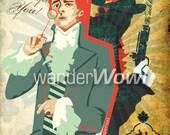 The Illusive Scarlet Pimpernel Poster Art
