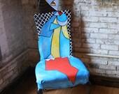 Picasso Femme Assise Dans Un chair