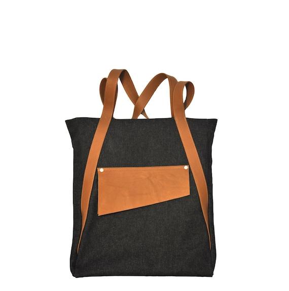 Sale 50% Off! Canvas  Bag, Denim Canvas,  Shoulder Bag