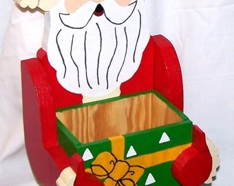 Christmas Santa Candy Box