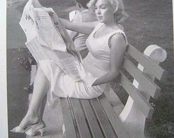 Marilyn Monroe Hardcover Book with Dust jacket. Marilyn Among Friends.