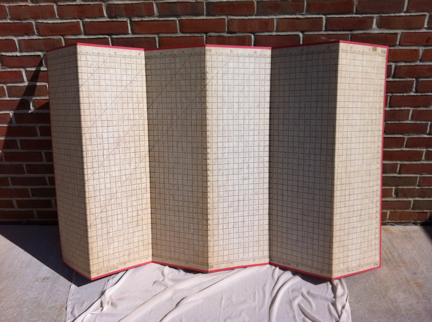 Vintage Pattern Sewing Cutting Board 40 X72 By Cortesunlimited