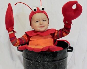 Lobsterbaby Costume PDF Pattern