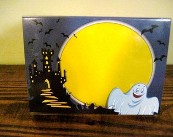 Halloween Picture Frame - Ghost