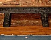 Railroad Tie Indoor / outdoor bench