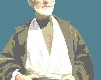 Star Wars Obi Wan Kenobi Art Print