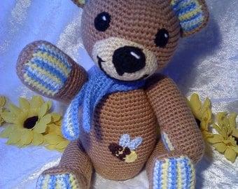 """PDF crochet pattern - pattern """"Teddy Benny"""""""