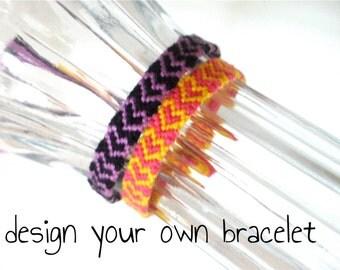 Custom Heart Friendship Bracelet
