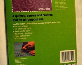 Quilt Ruler 6 X 12 O'Lipfa - Quilting Ruler