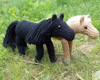 Crochet Horse Pattern (PDF)