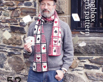 52 Pickup Double-Knitting pattern KIT from Fallingblox Designs