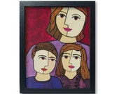 Mother of Two Art Print -...