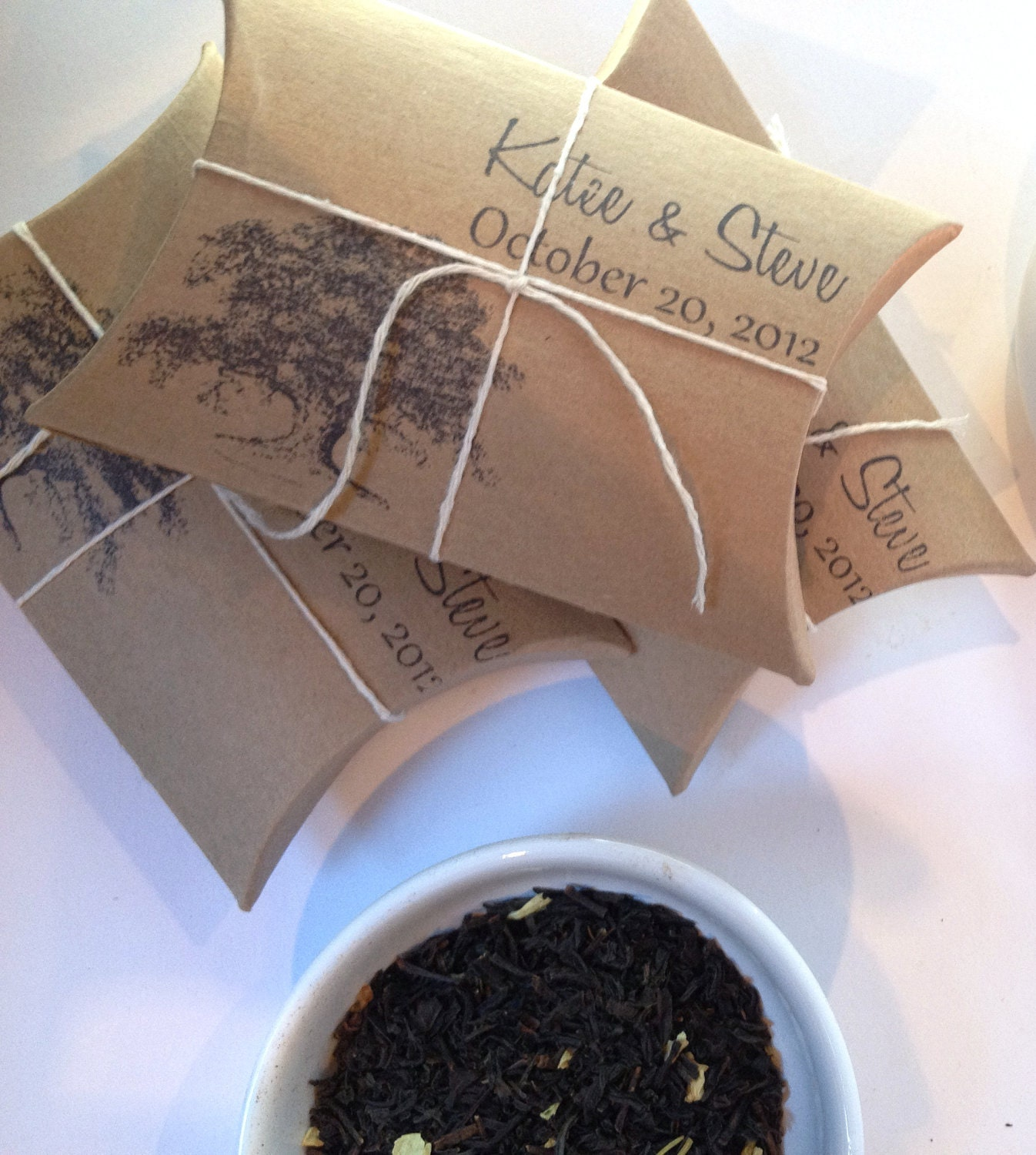 Wedding Party Gifts: Wedding Favors // Bridal Shower Favors. Tea By AproposRoasters