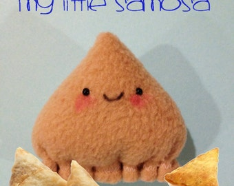 My Little Samosa Plushie