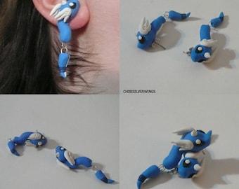 Dragonair Dangly Earrings