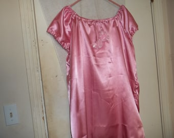 pretty satin nightgown
