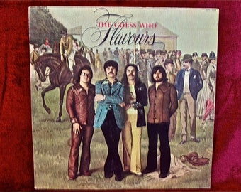 The GUESS WHO - Flavours - 1975 Vintage Vinyl Record Album