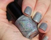 "Hand Made Nail Polish ""Gray Matter"" Mini Size"