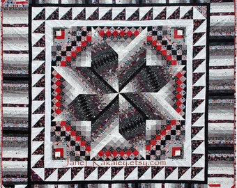 PDF Quilt Pattern - Rotary Sampler Quilt Pattern - Immediate Download