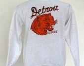Detroit Tigers Sweatshirt Vintage 1935 Penant Inspired