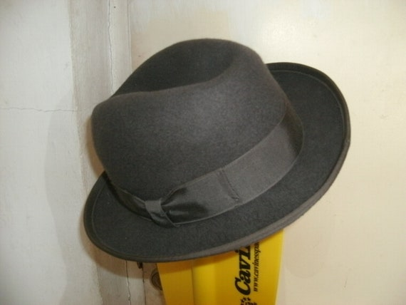Wool DERBY MADE In USA/Charcoal Gray/Size Sm