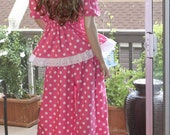 Tami Loves Big Polka Dots -  Custom Order only - Amazing Women's Pajamas, lingerie sets, intimates