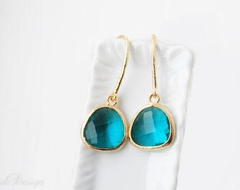 Turquoise Green Earrings
