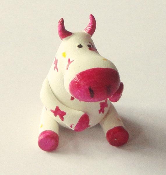 "figurine  polymer clay miniature ""Gloria"""