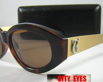 vintage Versace (Italy) optical frames for Eyeglasses or Sunglasses 1990s HIGH FASHION with original case