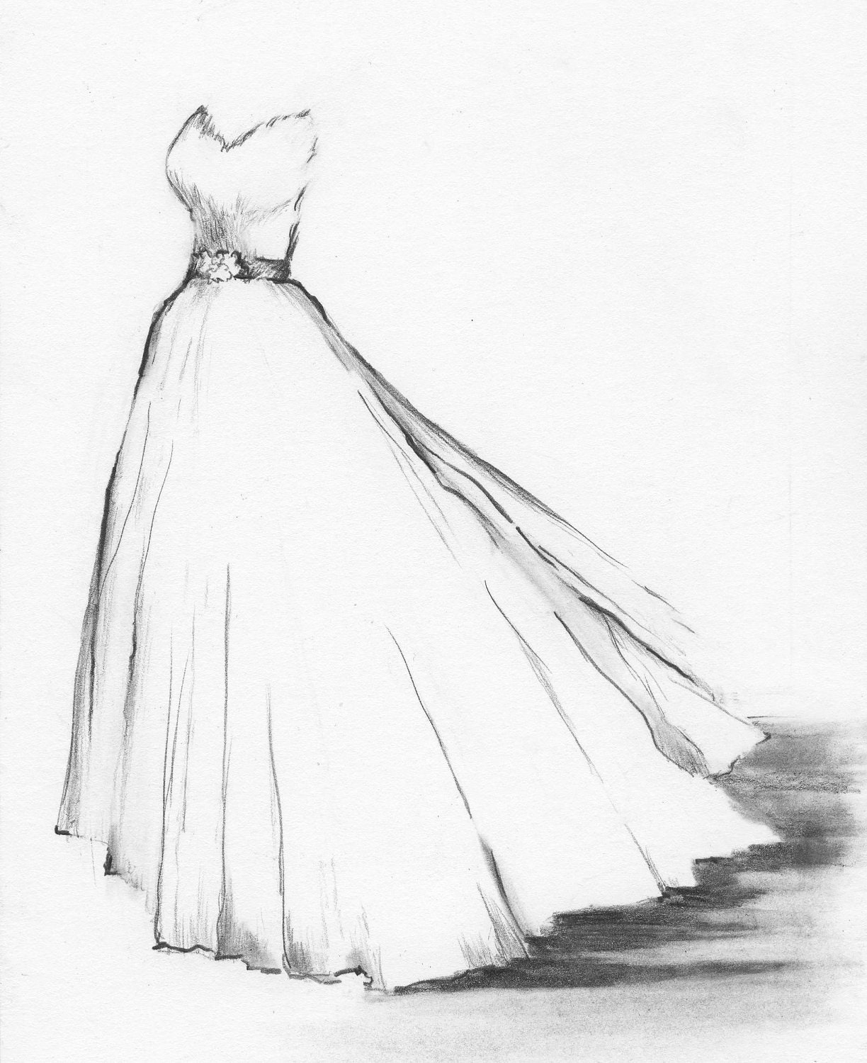 Wedding Dress Drawings - Wedding Guest Dresses