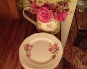 Sandringham English Floral Bone China Side Plate