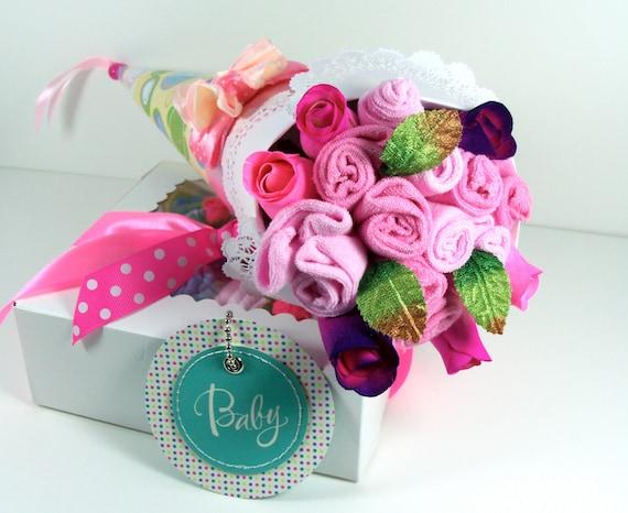 Items similar to baby shower gift set newborn girl