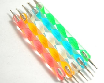 Nail Art Dotting Tools, Set of 5
