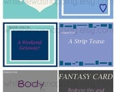 Bedroom Love Coupons For Him/For Her - Instant Download