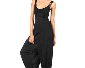 Black X Tank Top - Organic Cotton Top - Yoga Top - Black Tank Top - Yoga Clothing - Tank Top